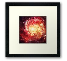 Deep Space Galaxy (Messier 101 Remix) Framed Print