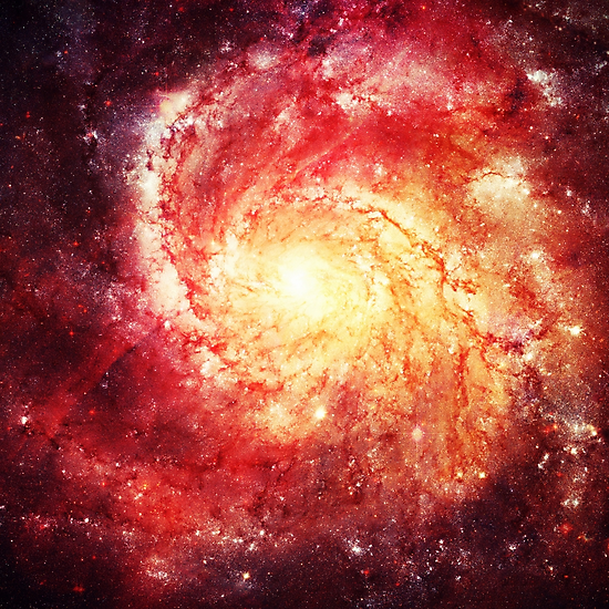 Deep Space Galaxy (Messier 101 Remix) by badbugs