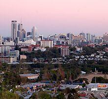 Brisbane at Dusk by Judy Harland