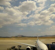 Athens Tarmac by Mark Hayward