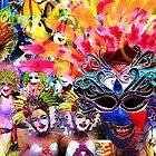 maskkara festival by oskeepops