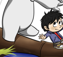 Hiro and Baymax Sticker
