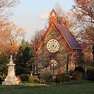 A Chapel In Autumn Light by Cora Wandel