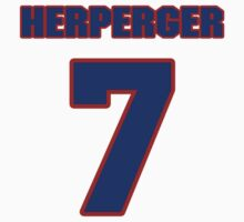 National Hockey player Chris Herperger jersey 7 by imsport
