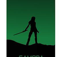 Gamora phone cover design by whiteskull