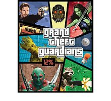 Grand Theft Guardians | Guardians of the Galaxy Photographic Print