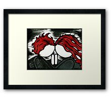 Understanding and need. Framed Print