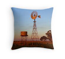 Evening Glow - Narrandera Throw Pillow