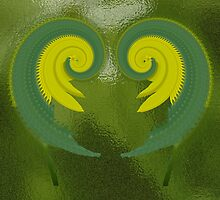 Spiral Pair by Barry L White