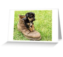 Too Small For Your Boots! Greeting Card