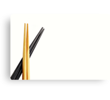 Chopsticks Canvas Print
