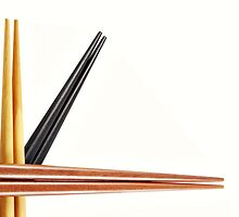 Chopsticks by Karin  Hildebrand Lau
