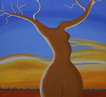 LADY BOABAB (OUTBACK AUSTRALIA) by RoseLangford