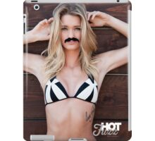 Movember Mustache Wood by Hot Fuzz iPad Case/Skin