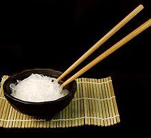 Rice Noodles by Karin  Hildebrand Lau
