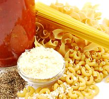Pasta Ingredients by Karin  Hildebrand Lau