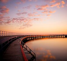 Sunrise by the Boardwalk by Luka Skracic