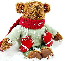 Christmas Bear by Karin  Hildebrand Lau