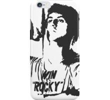 "Win ""Rocky"" Win iPhone Case/Skin"