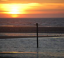 Sunset over Colwyn Bay by JImage