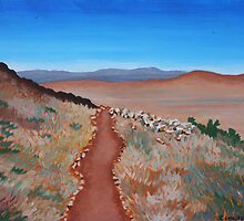 ROAD TO NOWHERE (AUSTRALIAN OUTBACK) by Rose Langford