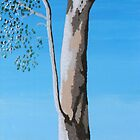 RIVER RED GUM (AUSTRALIAN OUTBACK) by Rose Langford