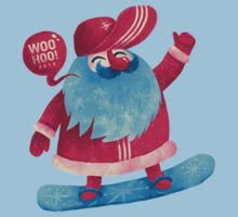 Snowboarding Christmas Kids Clothes