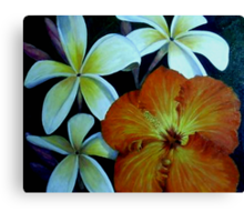 """Tropical Companions"" Canvas Print"