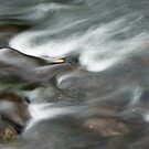 River Rothay Patterns II by Chris Tarling