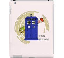 The Doctor and His Assistant iPad Case/Skin