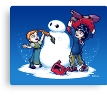 Do you wanna build a Snow max? Canvas Print