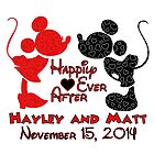 Custom Happily Every after~ Hayley and Matt by sweetsisters