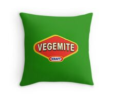 Vegemite Throw Pillow