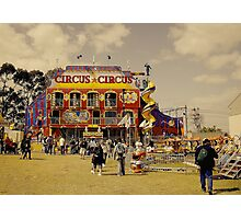 Circus Attraction Photographic Print