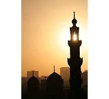 Cairo Sunset Photographic Print
