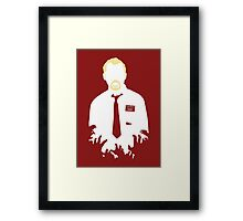 You've Got Red On You Framed Print