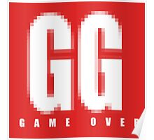 GG Game Over Poster