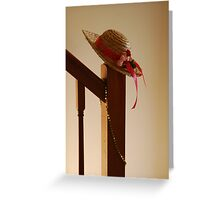 Fancy Hat Greeting Card