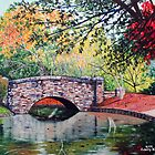 'The Bridge at Freedom Park (Another View)' by Jerry Kirk