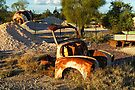 Mining area at Lightning Ridge by Darren Stones