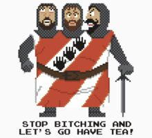 Threed Headed Giant - Monty Python and the Holy Pixel T-Shirt