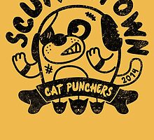Scuffletown Cat Punchers by BeanePod