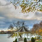 Autumn Gazebo by Marilyn Cornwell