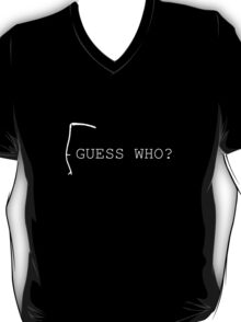 Death Guess Who? (White) T-Shirt