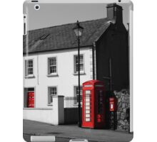 Red Highlights iPad Case/Skin