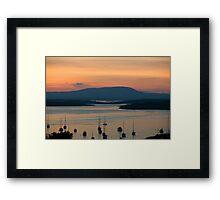 Golden Irish Sunset Framed Print