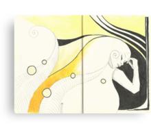 Sketchbook Jak, 20-21 Canvas Print