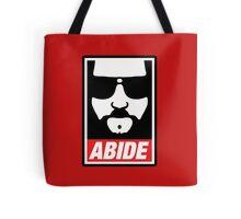 The big lebowski - Abide poster shepard fairey style Tote Bag