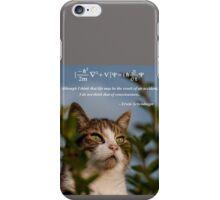 Schrödinger Cat iPhone Case/Skin