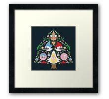 Regular Family Tree Framed Print